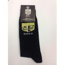 NAC Breda Sokken Logo, Zwart One Size 40/46 (rek)