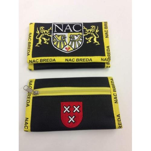Nac Breda Portemonnee, Nac Logo gedragen door leeuwen