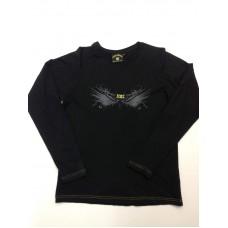 NAC Breda T-Shirt (trui)Zwart Lange Mouw.