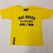 Nac Breda T-shirt Geel, Army.